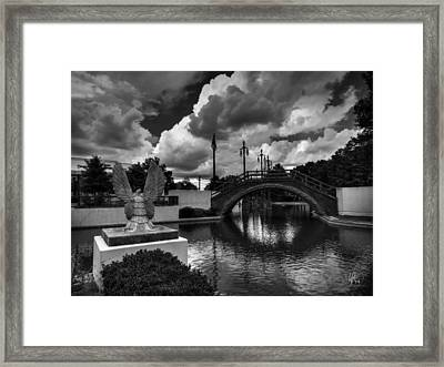 Treme - Louis Armstrong Park 001 Framed Print by Lance Vaughn