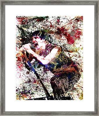 Trent Reznor Artwork Framed Print
