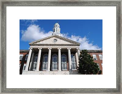 Trenton Central High School Framed Print