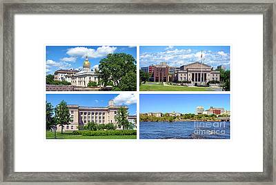 Trenton New Jersey Framed Print by Olivier Le Queinec