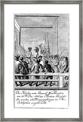 Trenton: Prisoners, 1776 Framed Print