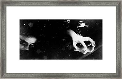 Trepidation Framed Print by Jessica Shelton