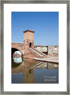 Trepponti Bridge Framed Print by Gabriela Insuratelu