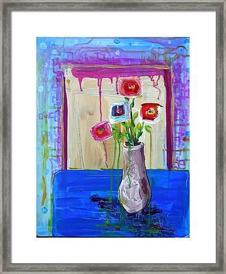 Tres Amigos Framed Print by Dawn Gray Moraga