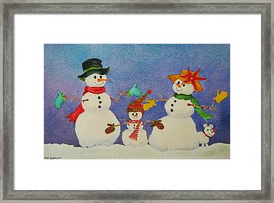 Tres Chic Framed Print by Mary Ellen Mueller Legault