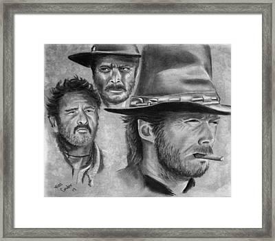 Tres Hombres Framed Print