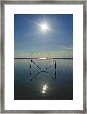 Tres Luces Framed Print