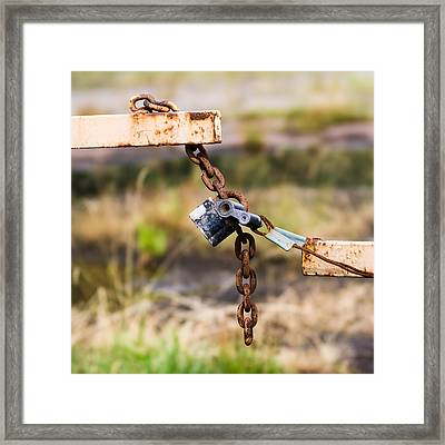 Trespassers W - Featured 3 Framed Print by Alexander Senin