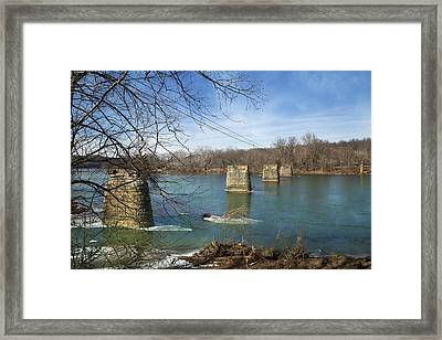 Trestle Of The Past Framed Print
