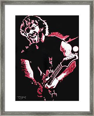 Trey Anastasio In Pink Framed Print by Joshua Morton