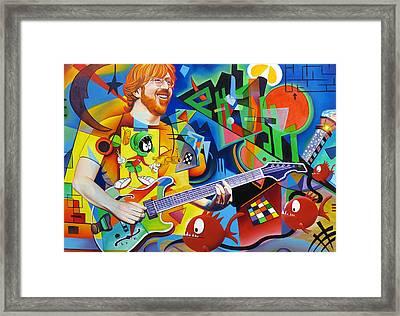 Trey Kandinsky  Framed Print by Joshua Morton