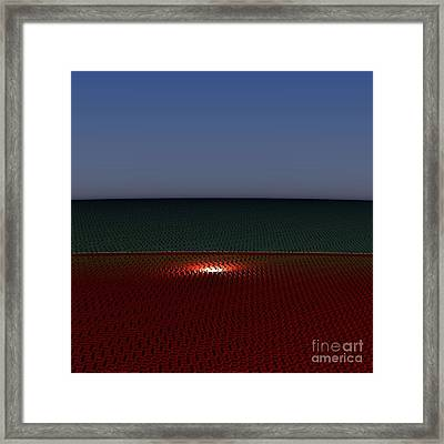 Tri Abstract Framed Print