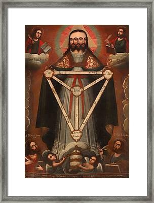 Tri Facial Trinity Framed Print