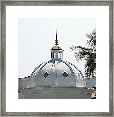 Triad Dome Framed Print by Randall Weidner