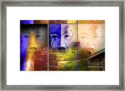 Triad Emotive Framed Print