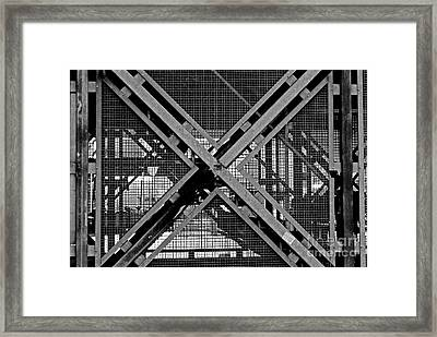 Framed Print featuring the photograph Triangle by Maja Sokolowska