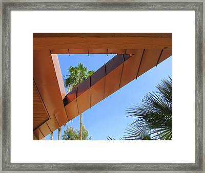 Triangular Frame Framed Print by Randall Weidner