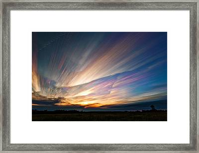 Triangular Void Framed Print