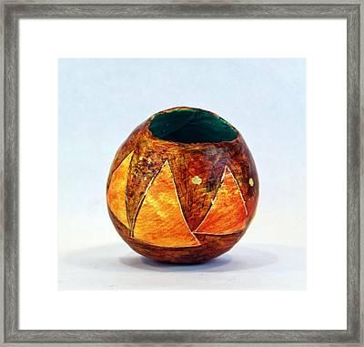 Triangulum No. 1 Framed Print by Mark M  Mellon