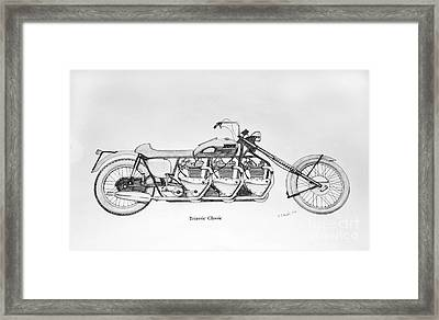 Triassic Classic Framed Print by Stephen Brooks