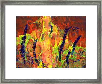 Tribal Essence Framed Print
