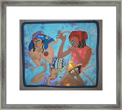 Tribal Framed Print by Linda Egland