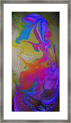 Framed Print featuring the painting Tribal Princess by Mike Breau