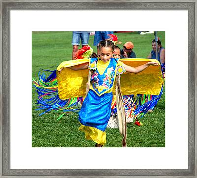 Tribal Youth Framed Print