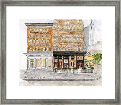 Tribeca Framed Print