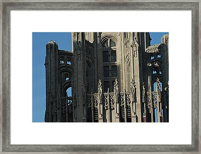Tribune Tower Framed Print by Joseph Yarbrough