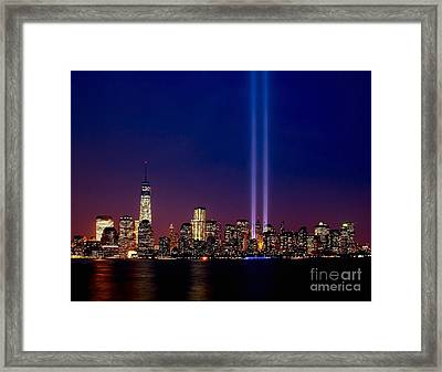 Tribute 2013 Framed Print by Nick Zelinsky