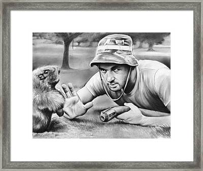 Tribute To Caddyshack Framed Print