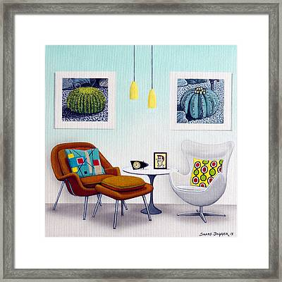 Tribute To George Framed Print