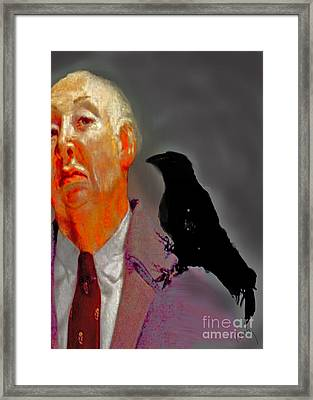 Tribute To Hitchcock Framed Print
