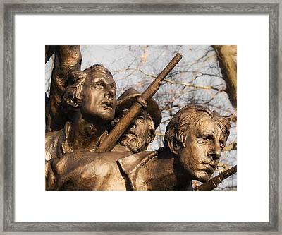 Tribute To North Carolina Framed Print