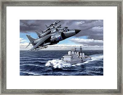 Tribute To Valour Framed Print by Michael Swanson