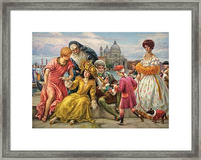 Tribute To Veronese Framed Print