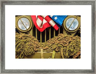 Tribute To Willy Framed Print by Martin Bergsma