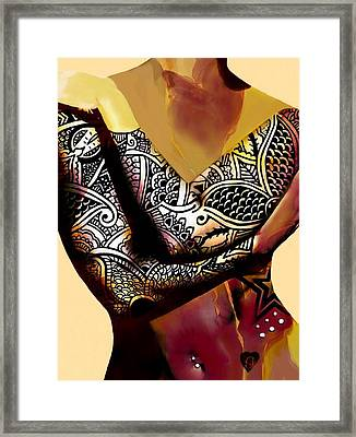Trice Framed Print by Cindy Edwards