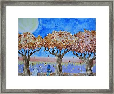 Trick Or Treat 1 Framed Print