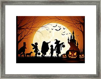 Trick Or Treat Framed Print by Gianfranco Weiss