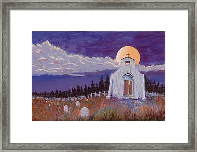 Trick Or Treat Framed Print by Jerry McElroy