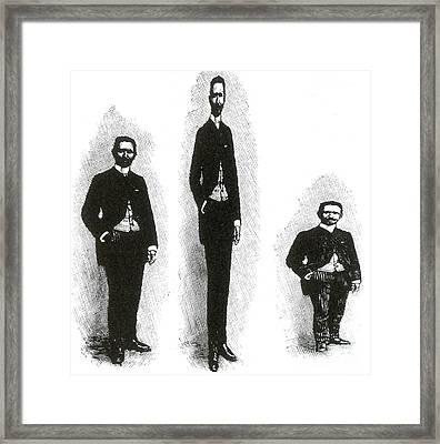 Trick Photography, 1889 Framed Print