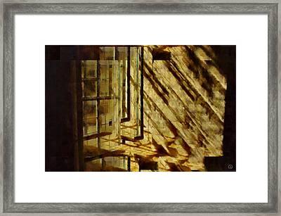 Tricky Window Framed Print by Gun Legler