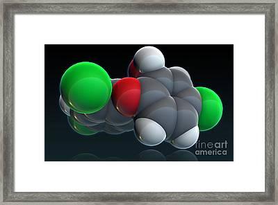 Triclosan Framed Print by Evan Oto