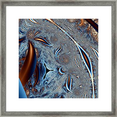 Tricorn In A Strange Land Framed Print by Mark Eggleston