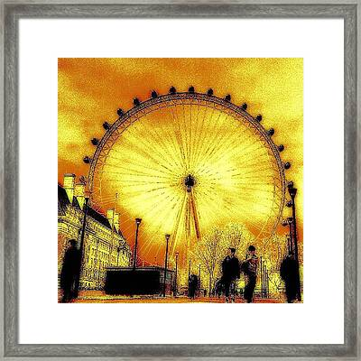 Tried Something A Bit Different!! Framed Print