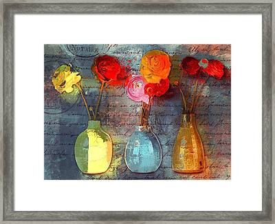 Triflorus - S02bc4 Framed Print by Variance Collections
