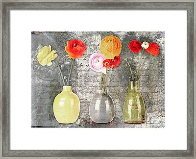 Triflorus - S11ac7 Framed Print by Variance Collections