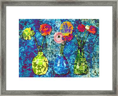 Triflorus - Sp19fr Framed Print by Variance Collections